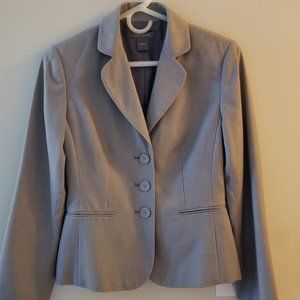 Ann Taylor fitted Gray blazer